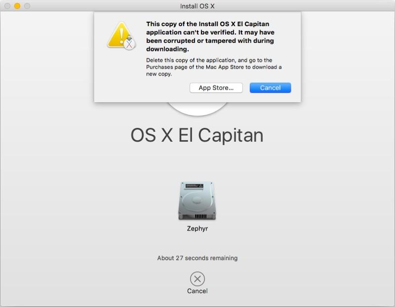 Vecchio installer OS X