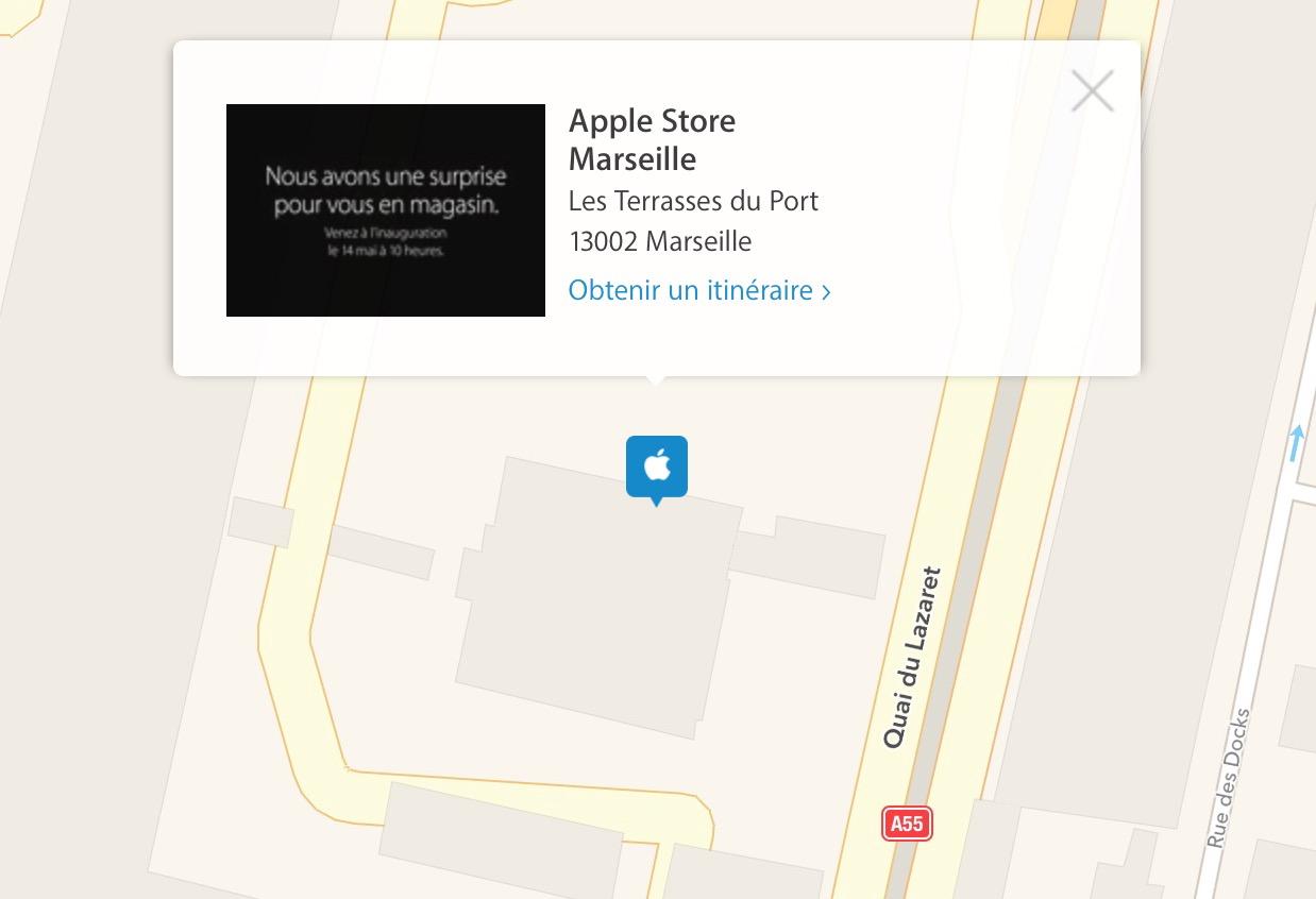 Apple Store di Marsiglia
