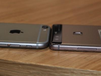 Testa a testa tra iPhone 6S e P9