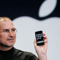 Jobs con l'iPhone