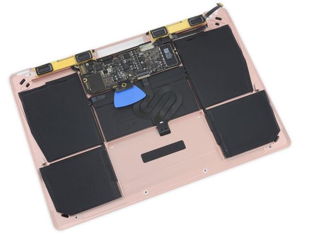 """MacBook 12"""" smontato"""