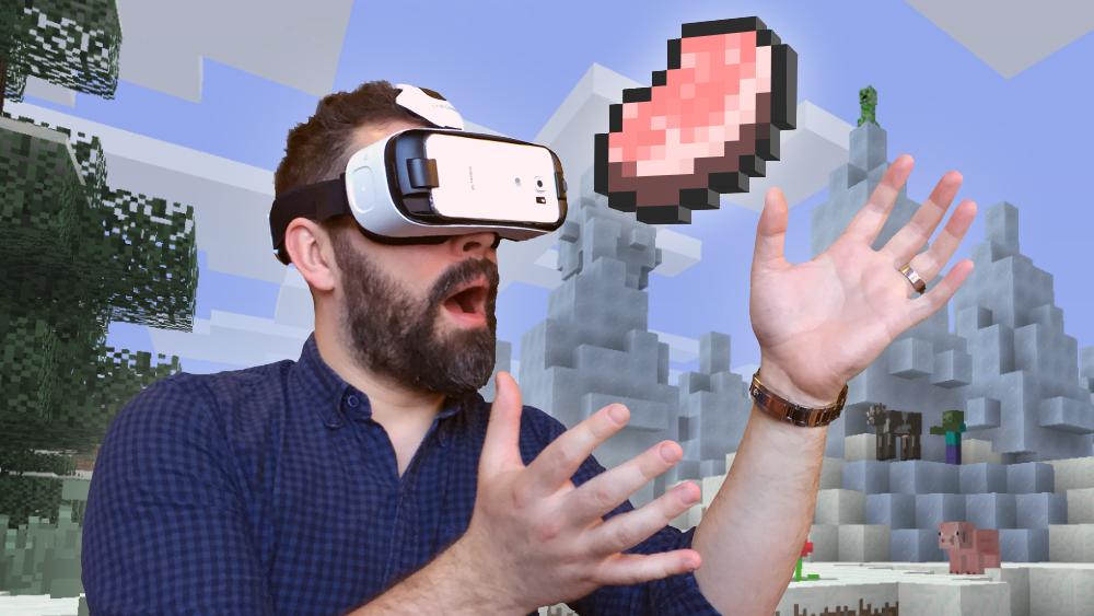 Minecraft per Galaxy VR