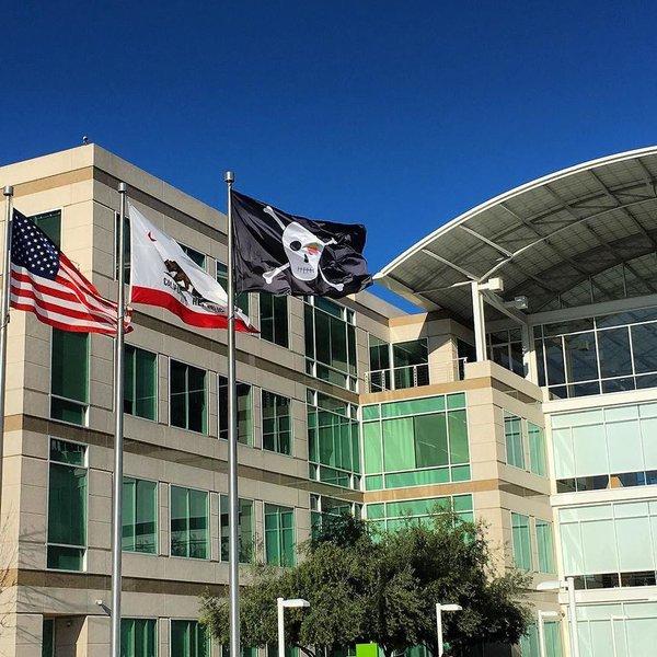 bandiera pirati silicon valley