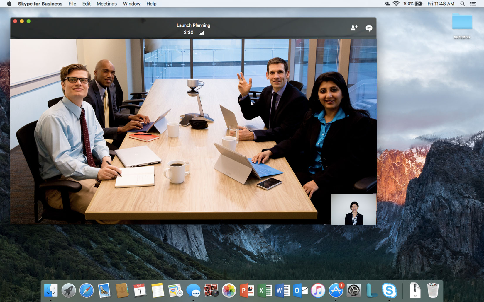 Skype for Business per Mac
