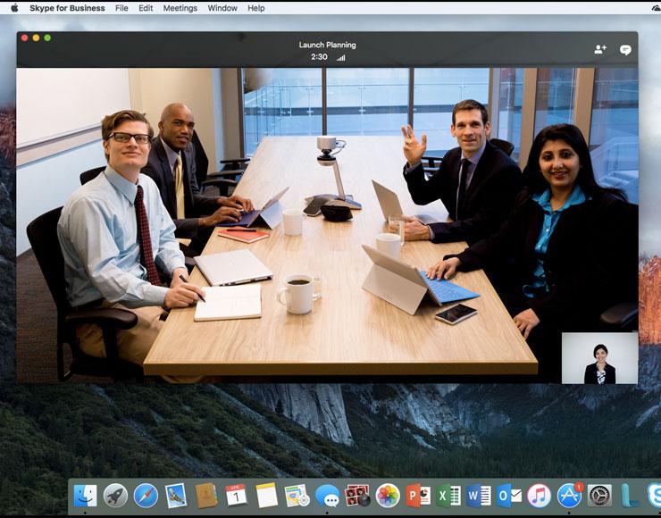 Microsoft ha annunciato Skype for Business per Mac