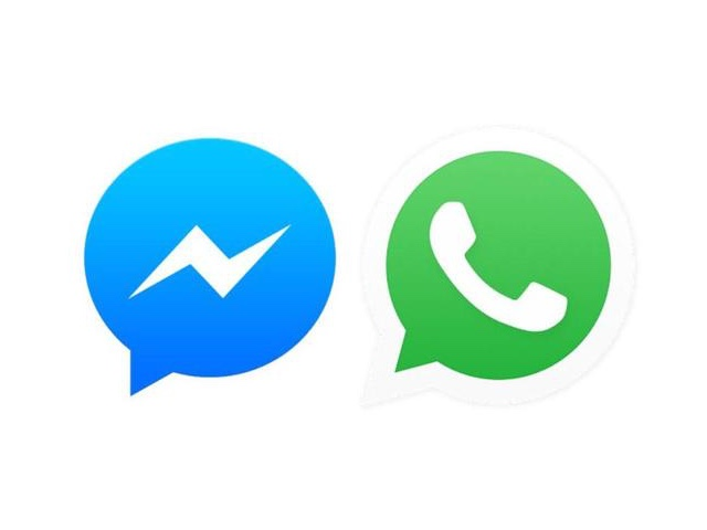 WhatsApp e Messenger icon 640