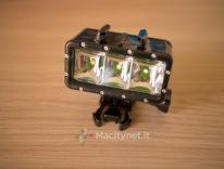 Recensione SupTig, torcia LED a luce continua per action cam anche sott'acqua