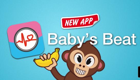 L'app Baby's Beat stima battito e temperatura del bebè con iPhone