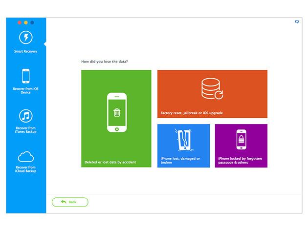 iMyfone D-Back 3 recupera dati da iPhone e iPad