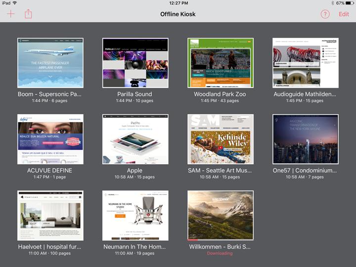 interi siti web con mac