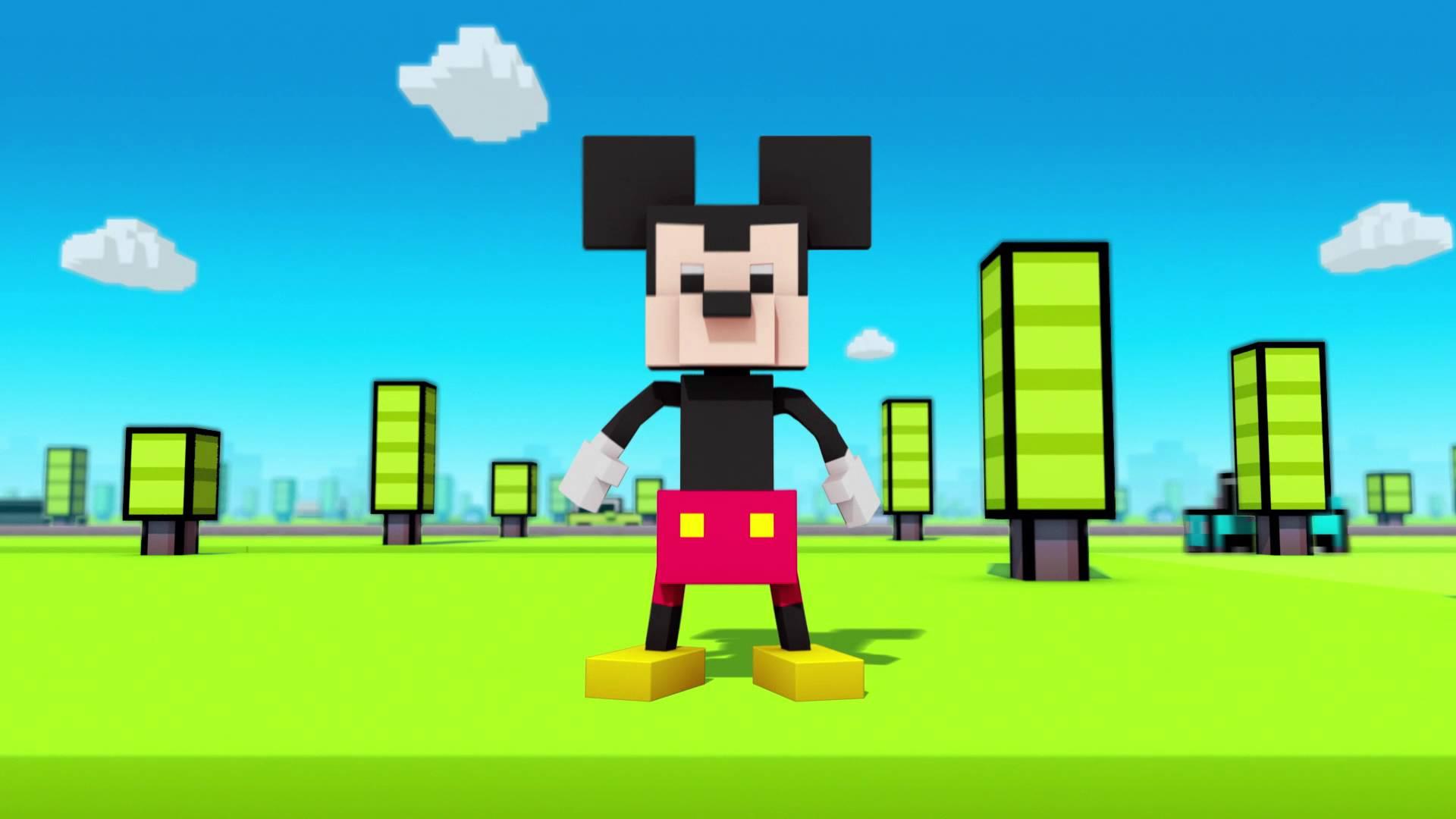 Disney Crossy Road Topolino E 100 Personaggi Disney Nel Traffico A