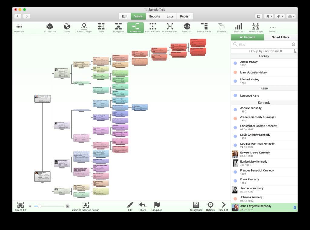 software albero genealogico mac gratis