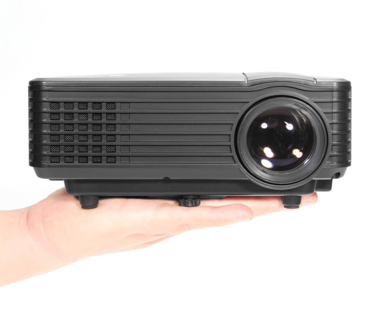 Mini proiettore led per il cinema hd in casa 83 99 euro for Proiettore led