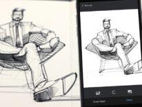 SketchBook 3.6 digitalizza gli schizzi su carta con un click