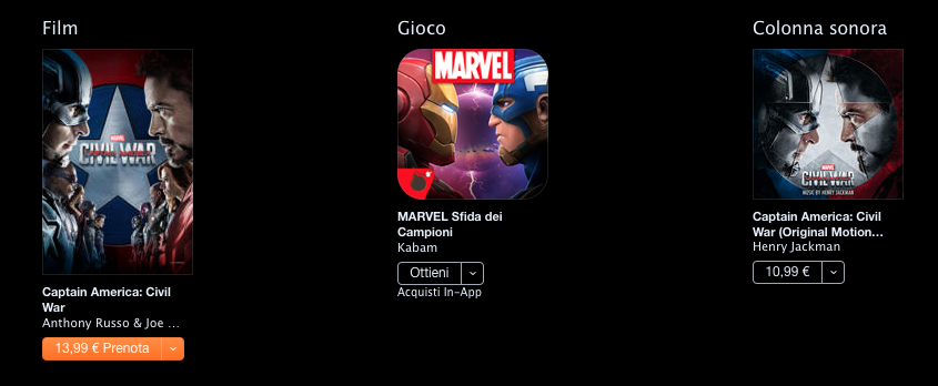 Captain America CIvil War iTunes 01