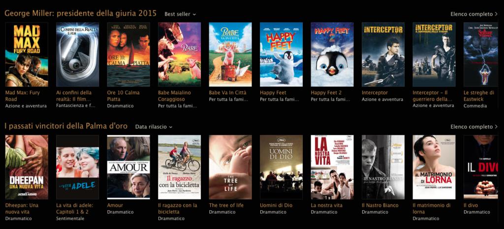Festival di Cannes sezione Store