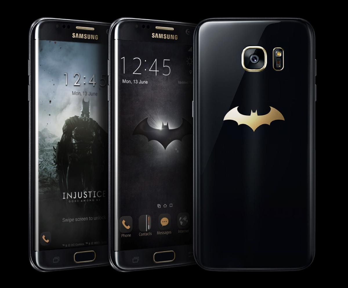 galaxy s7 edge injustice edition svelato lo smartphone di batman il