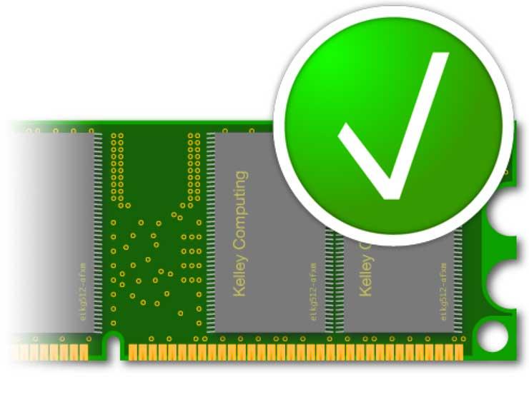 Test memoria RAM