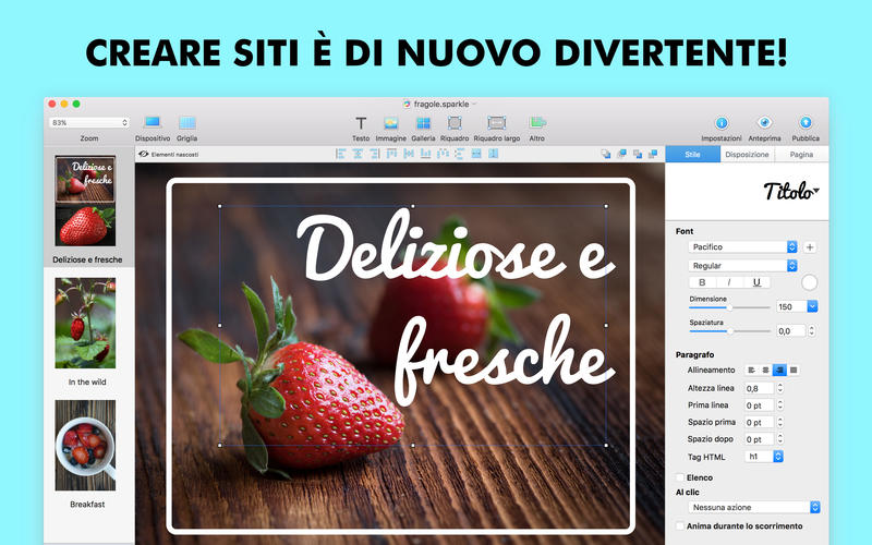 interi siti web con mac