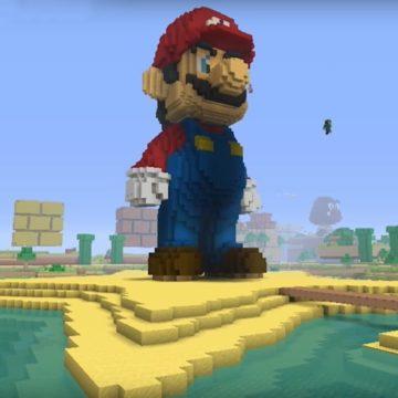 Super Mario in Minecraft 2