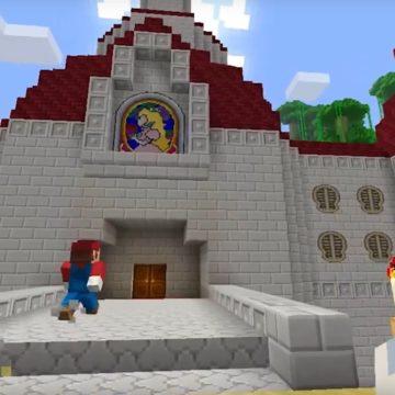 Super Mario in Minecraft 3