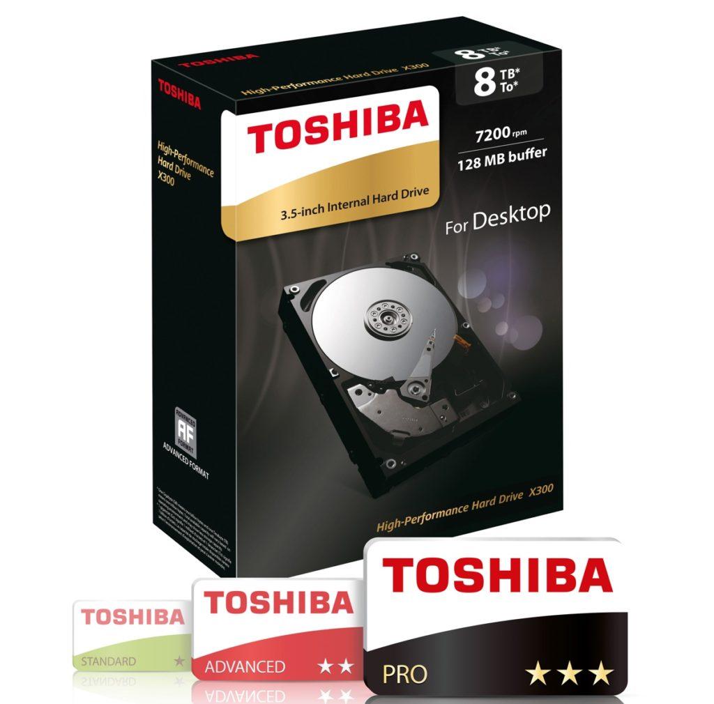 Toshiba X300 3.5 8TB 1