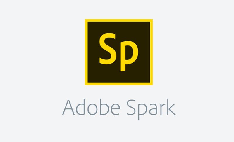 Risultato immagini per adobe spark page