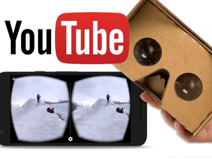 google cardboard su youtube