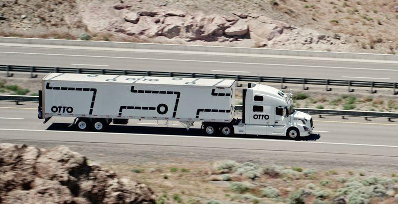 Camion a guida autonoma Otto