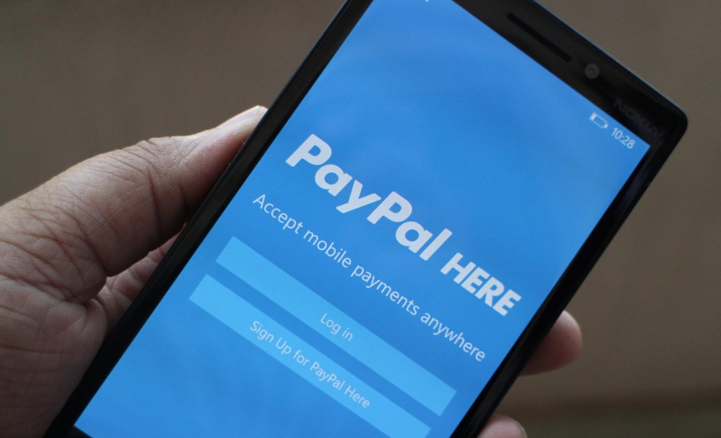 paypal Windows phone