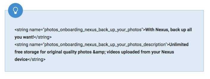 spazio di archiviazione illimitato google foto nexus