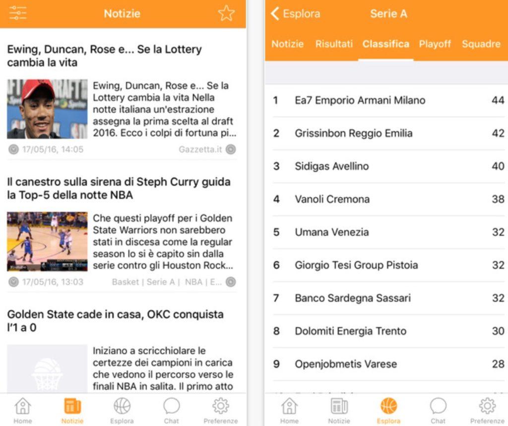 Tripla doppia tutto il basket in una sola applicazione for Programma per disegnare le planimetrie gratuitamente