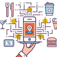 uso degli smartphone per ristorante