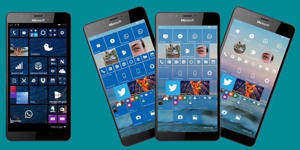 6f8e9cdab8276 Le app desktop tradizionali di Windows 10 arriveranno su smartphone e  tablet  il video di Microsoft mostra l intero sistema operativo in  esecuzione su ...