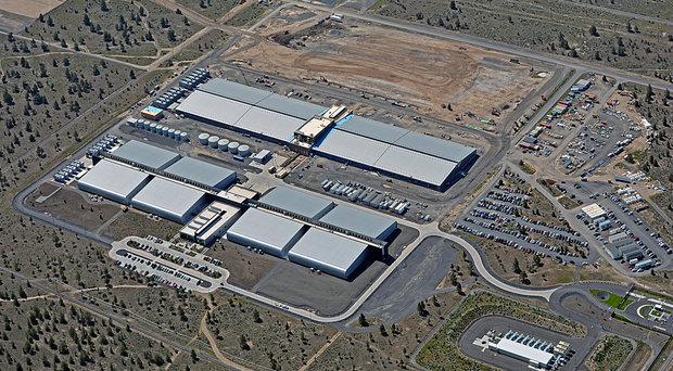 data center in Oregon apple