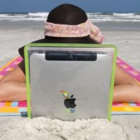 ipad viaggio mare spiaggia icon 640 2