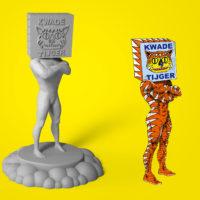 GLÖDANDE_3D-figure_Kwade_Tijger