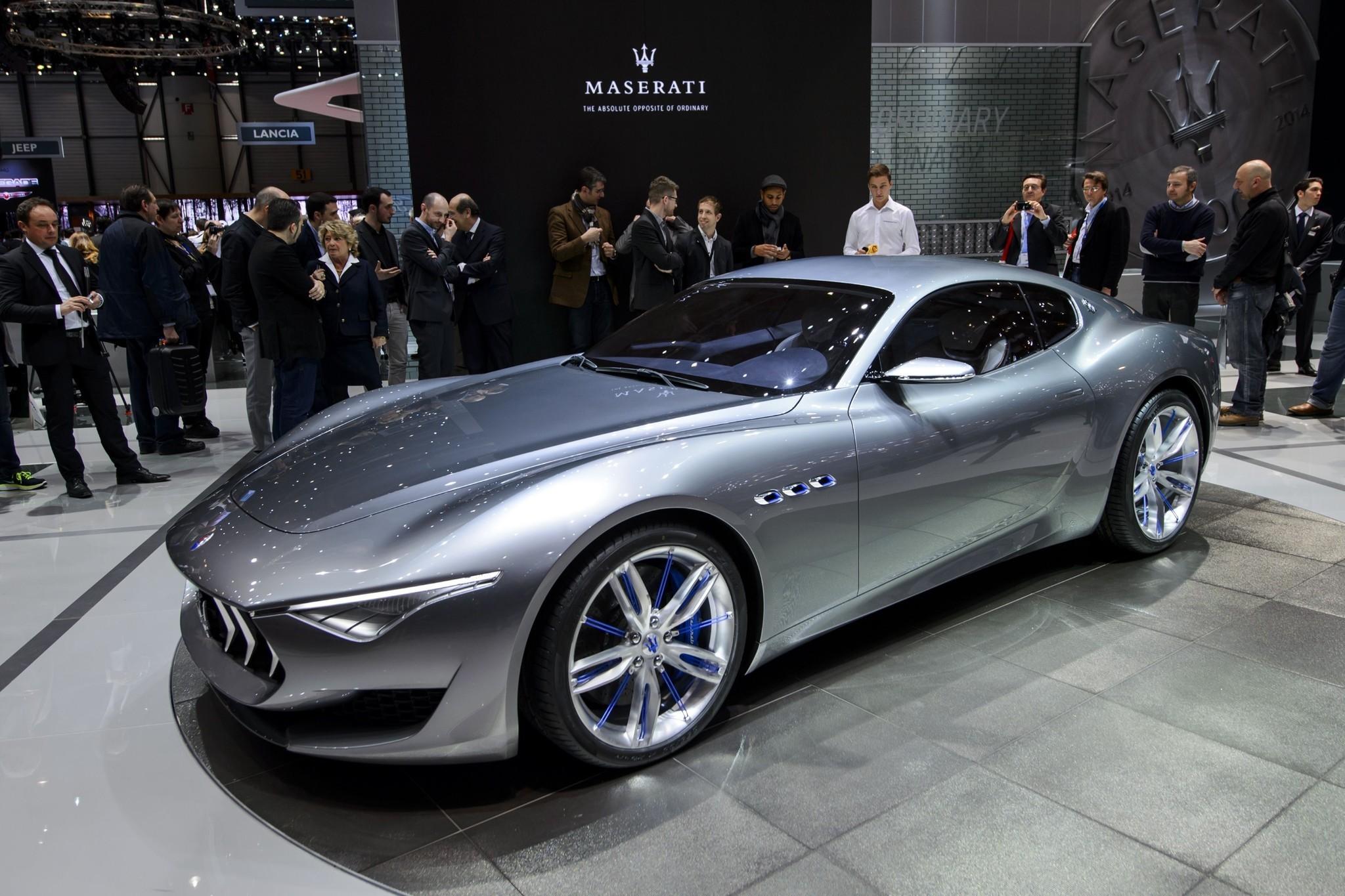 Risultati immagini per Maserati Alfieri - l'auto sportiva elettrica che prenderà il Tesla Roadster foto