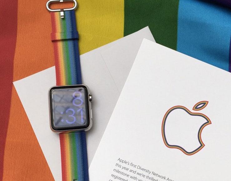quadrante apple watch pride - foto cinturino Apple Watch Pride