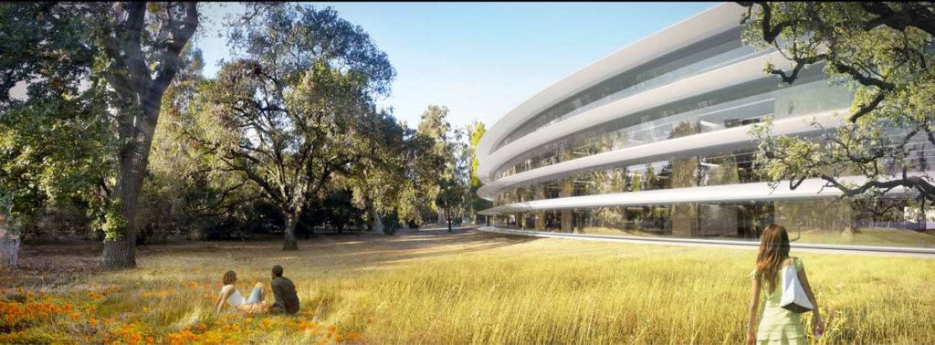 Rendering Campus 2 Apple
