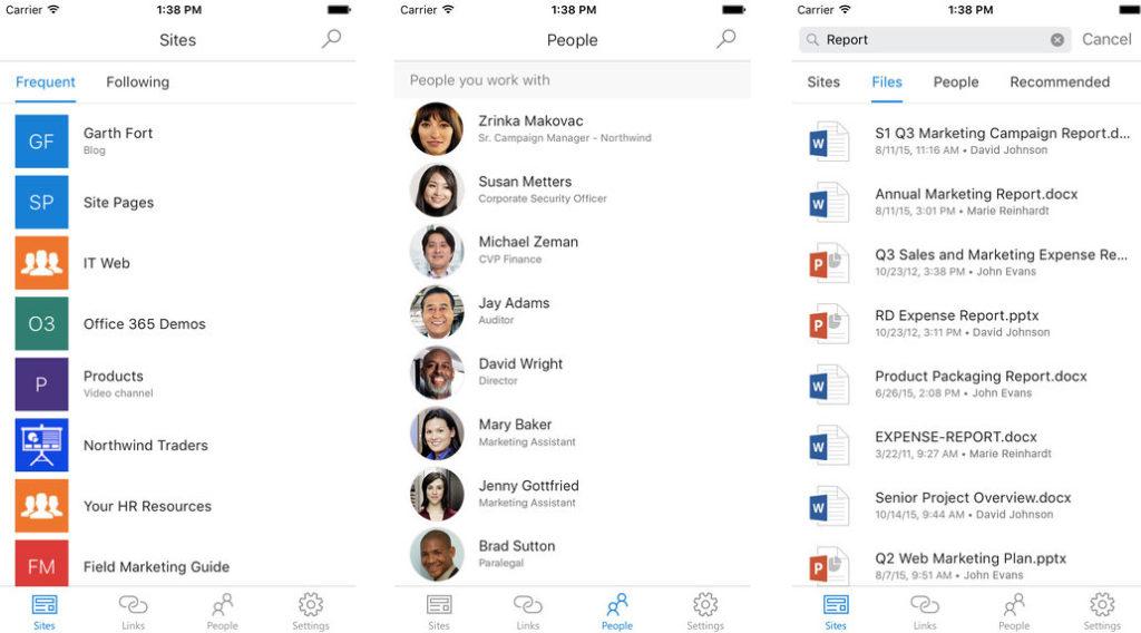 SharePoint per iOS