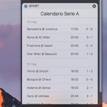 Abbiamo chiesto a Siri informazioni sul campionato di calcio