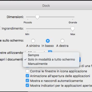 Nuova opzione per i pannelli. macOS Sierra porta la popoare funzione Tab di Safari nelle app per Mac che supportano le finestre multiple, fra cui Mappe, Mail, Pages, Numbers, Keynote e TextEdit, e anche in alcune app di terze parti.