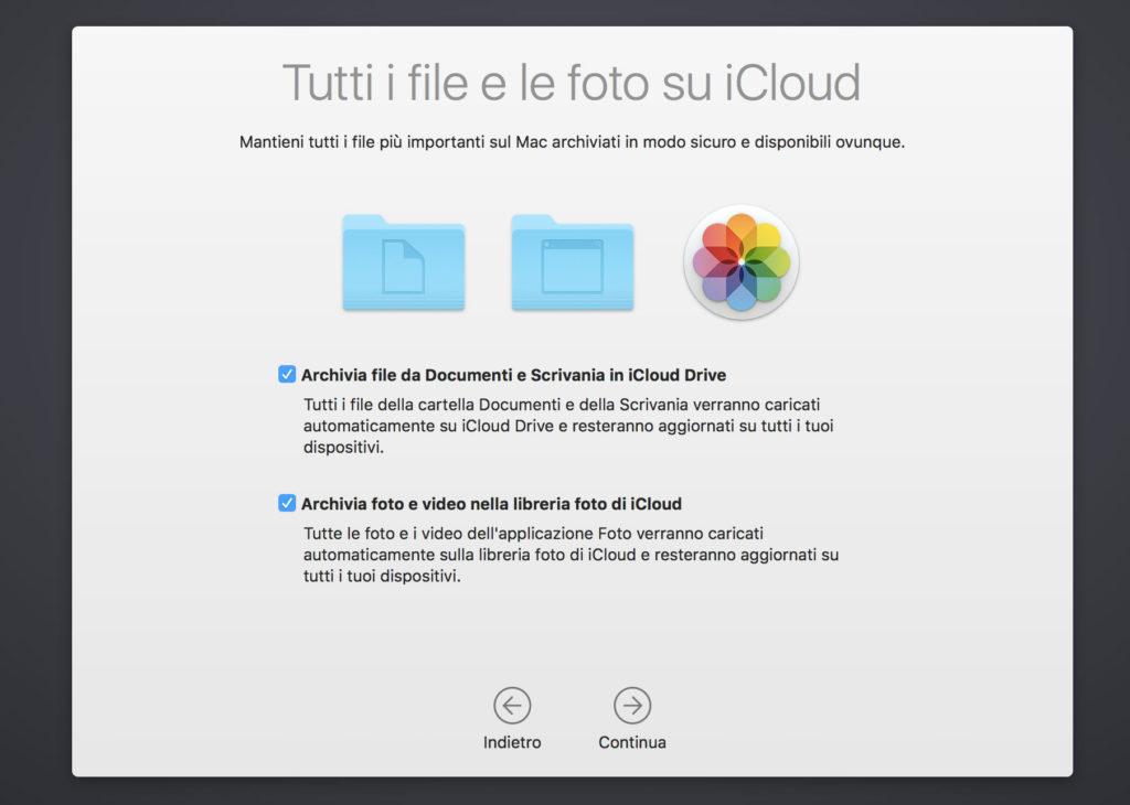 icloud drive macOS Sierra
