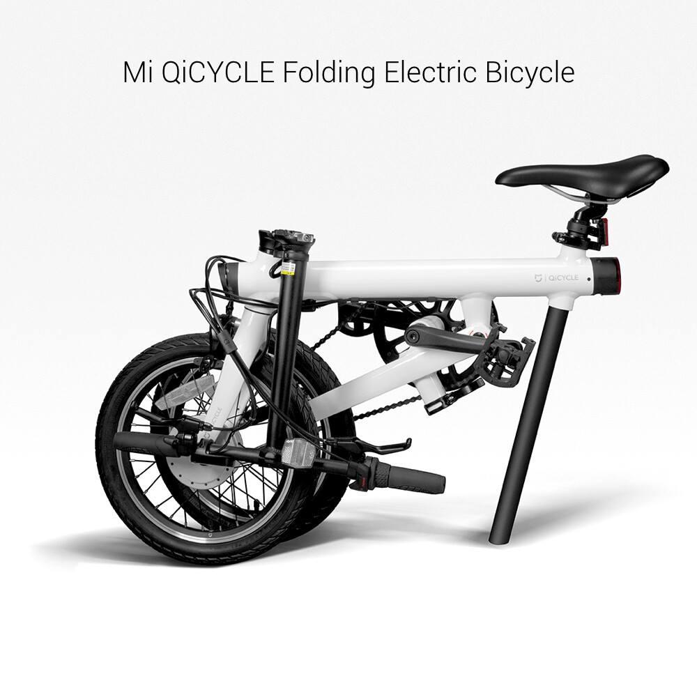 Xiaomi Mi Qicycle La Bicicletta Elettrica Che Si Piega A Metà