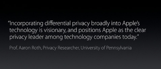 differetial privacy apple Aaron Roth