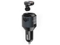 3-in-1: auricolare Bluetooth, carica batteria, purificatore aria per auto: sconto a 22,20 euro