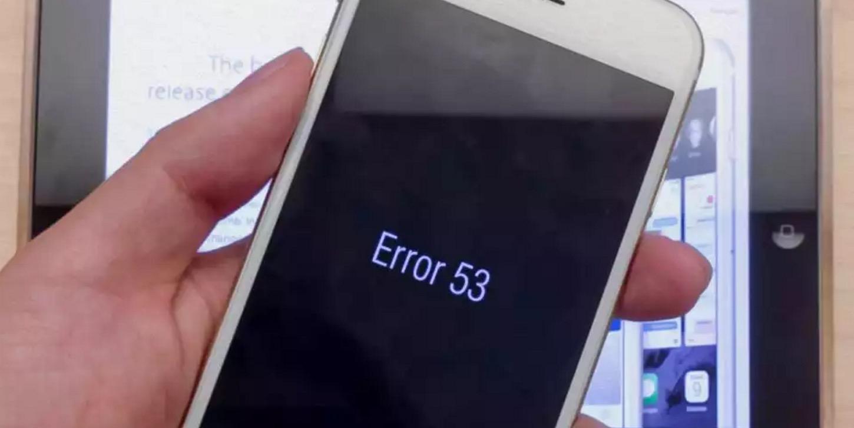 Errore 53 Apple