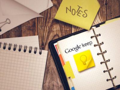 Google Keep tag