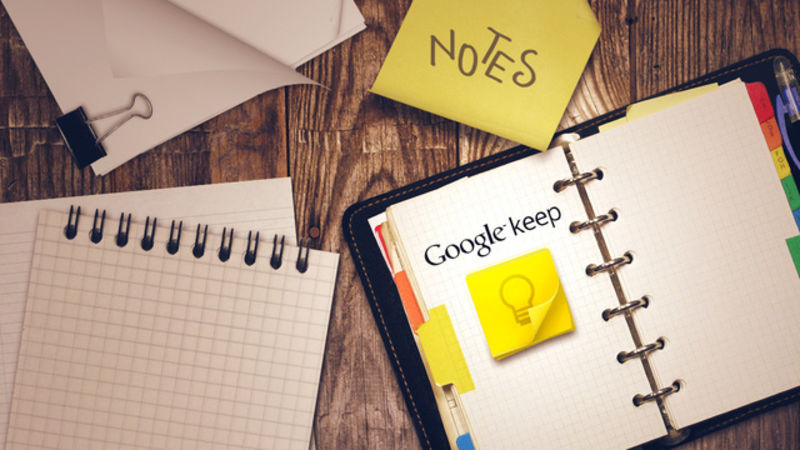 Google Keep tag